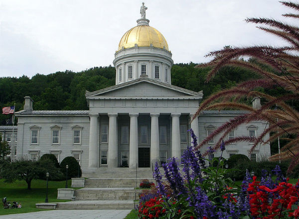 Vermont State Capitol (Photo: Alexander C. Wimmer, via Wikimedia).