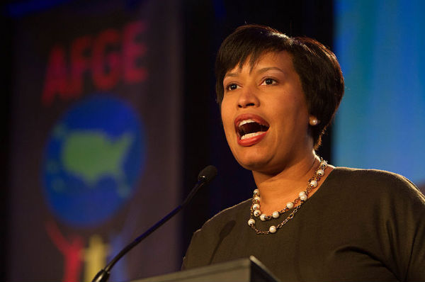 Muriel Bowser (Photo: American Federation of Government Employees, via Wikimedia).