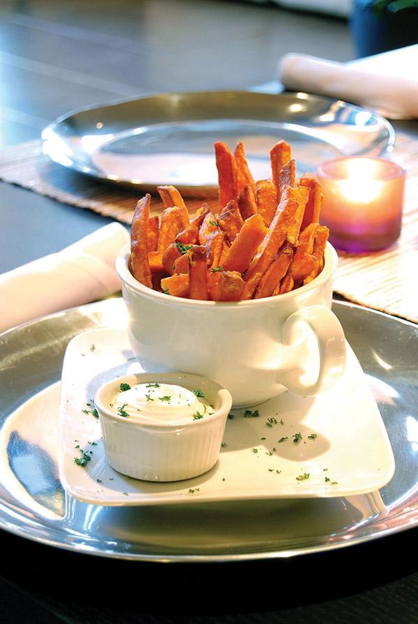 Level One: Sweet Potato Fries