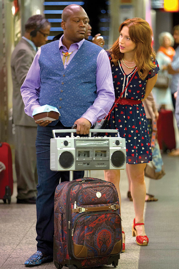 Unbreakable Kimmy Schmidt: Tituss Burgess and Ellie Kemper - Photo: Eric Liebowitz/Netflix