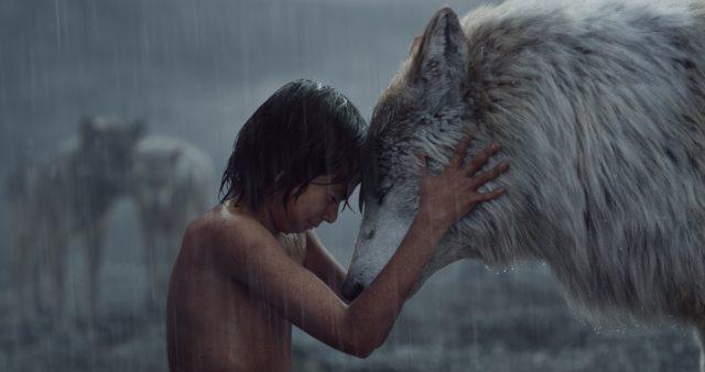 Mowgli and Raksha, Credit: Disney