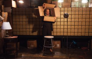 Geoff-Sobelle-in-The-Object-Lesson-at-Studio-Theatre-by-Allie-Dearie