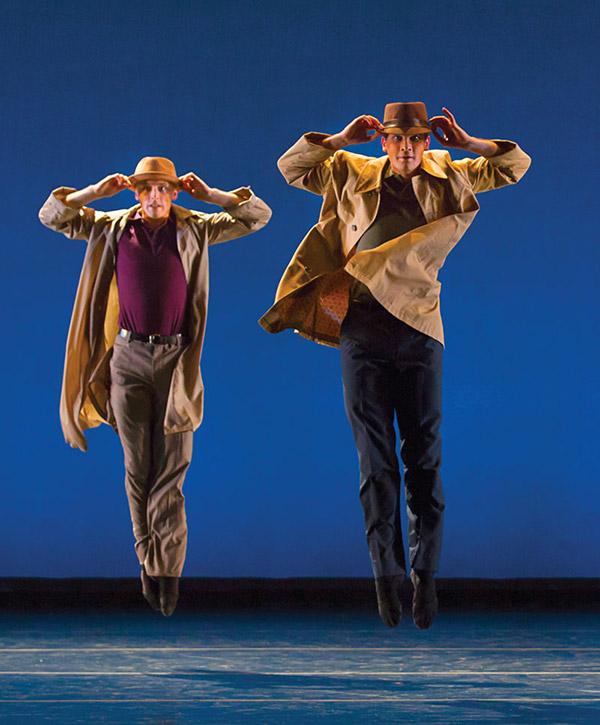 The Washington Ballet: Bowie & Queen: Michael Sayre and Attila Bongar - Photo: Jennifer Zmuda