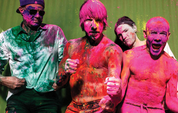 Red Hot Chili Peppers - Photo: Steve Keros