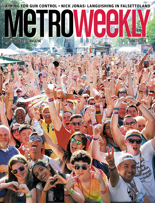 Cover of Metro Weekly, June 23, 2016
