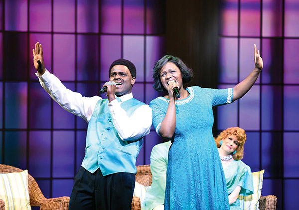 Born for This: The BeBe Winans Story - Photo: Greg Mooney, courtesy Alliance Theatre