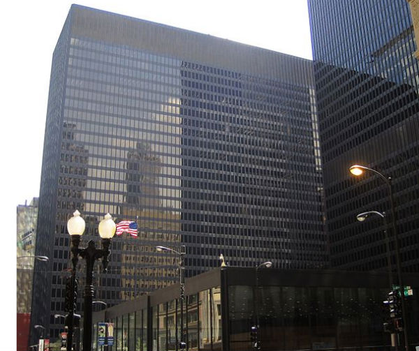 Chicago Federal Center and the Dirksen Federal Building, which houses the 7th Circuit Court of Appeals - Photo: Teemu008, via Wikimedia.