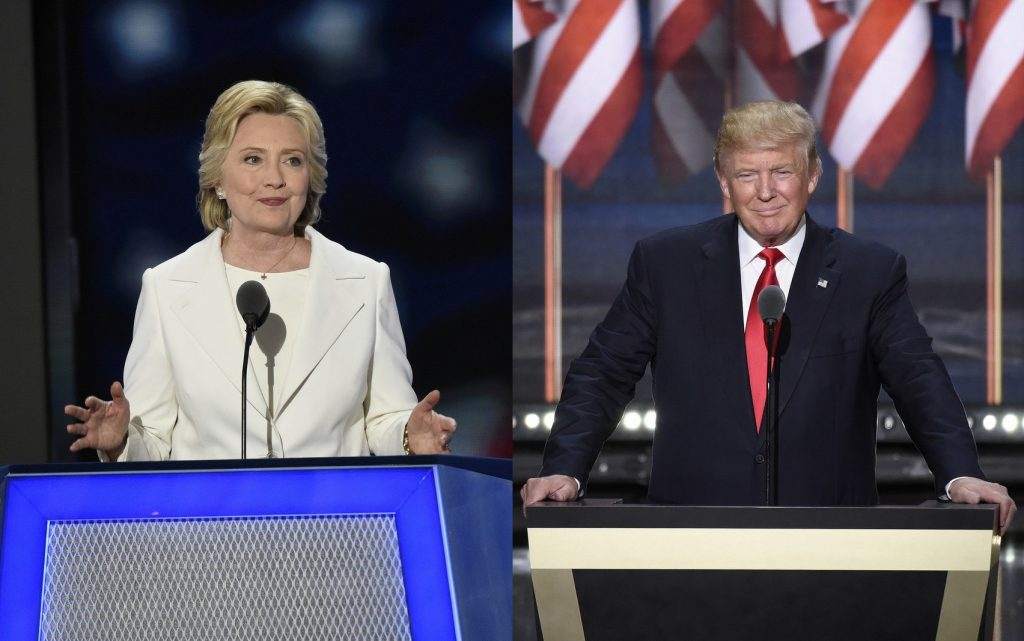 Clinton or Trump? Photos: ABC/ Ida Mae Astute