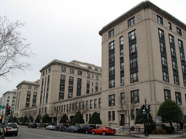 The front of the U.S. General Services Administration building - Photo: General Services Administration.