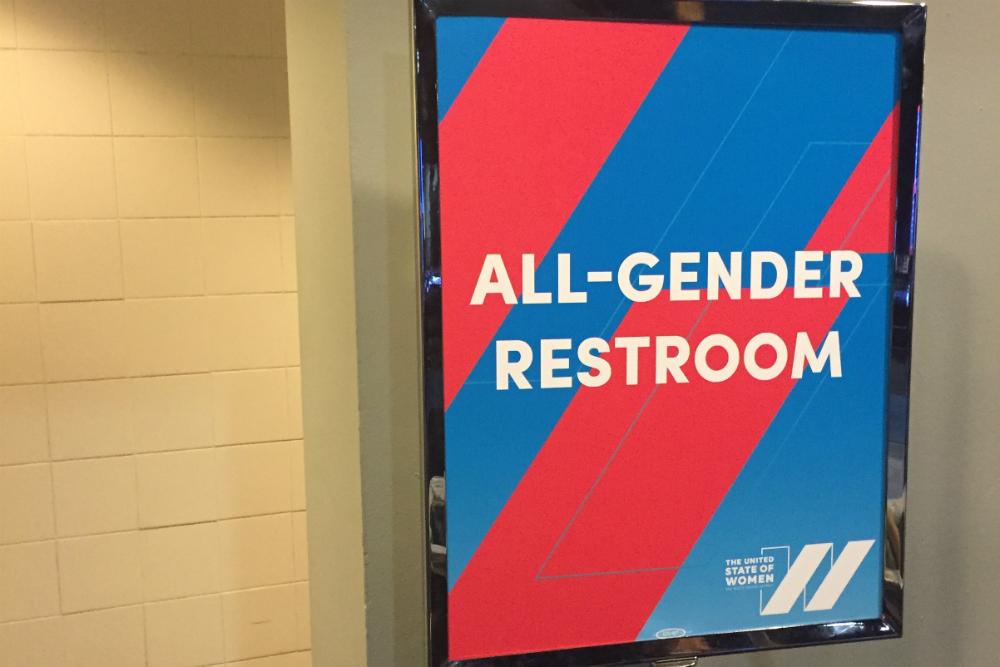All Gender Restroom Sign, Photo: Ted Eytan, Flickr