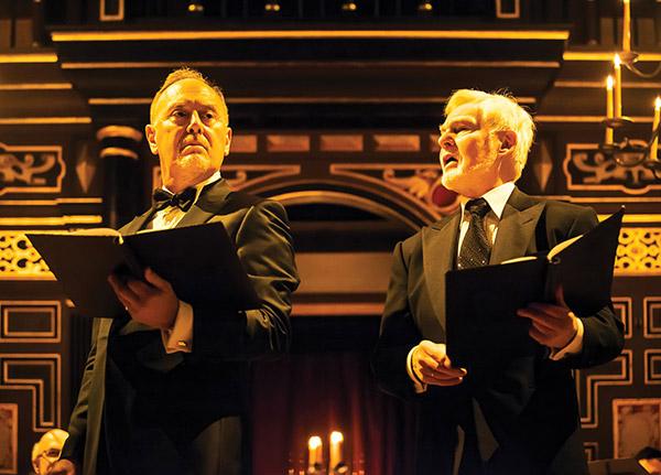 Folger Consort with Richard Clifford and Derek Jacobi