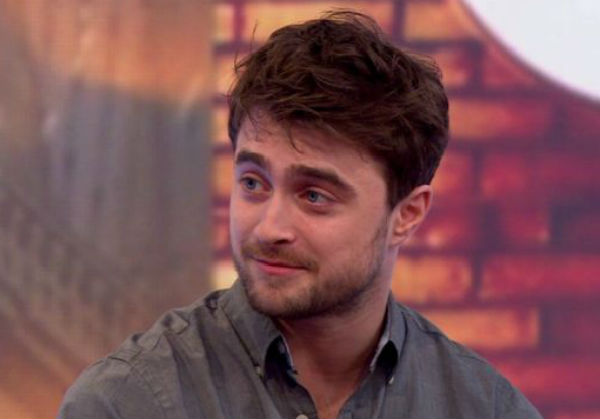 Daniel Radcliffe - Photo: BBC News.