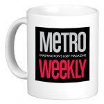 Mug: Metro Weekly logo: Gift Shop Store