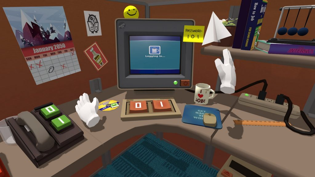 Job Simulator makes an office job feel exciting, interactive and hilarious, Photo: Sony
