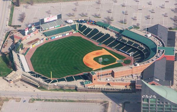 Louisville Slugger Field - Photo: Ron Reiring, via Wikimedia.