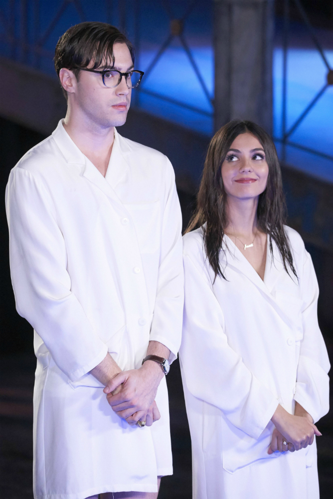 Ryan McCartan as Brad and Victoria Justice as Janet, Photo: Fox
