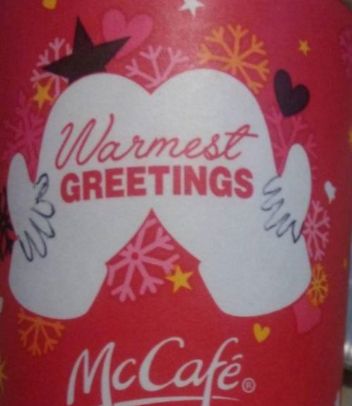 Quot Cheeky Quot Edits To Mcdonald S Holiday Cup Design Go Viral