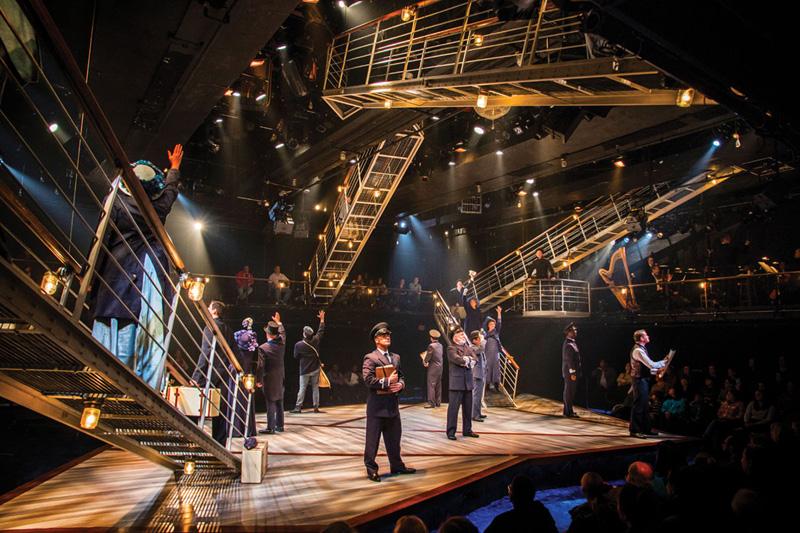 Titanic: The Musical at Signature Theatre -- Photo: Paul Tate DePoo, III