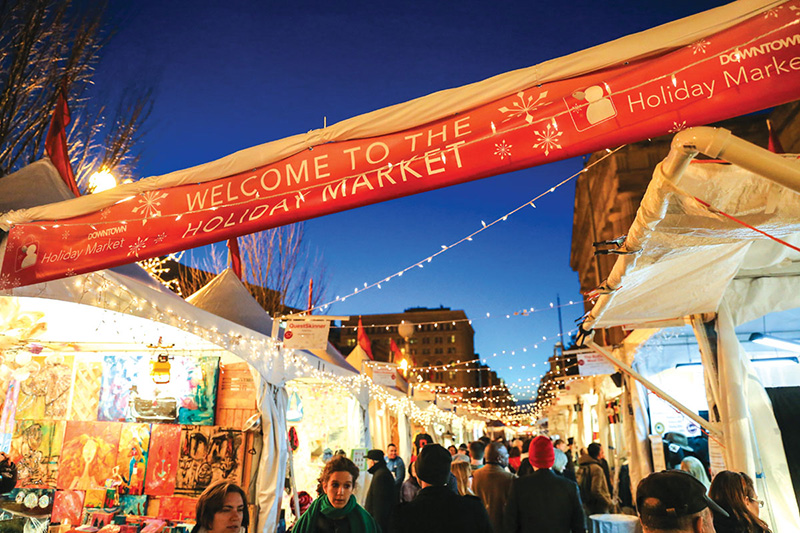 Downtown Holiday Market -- Photo: Downtown DC BID
