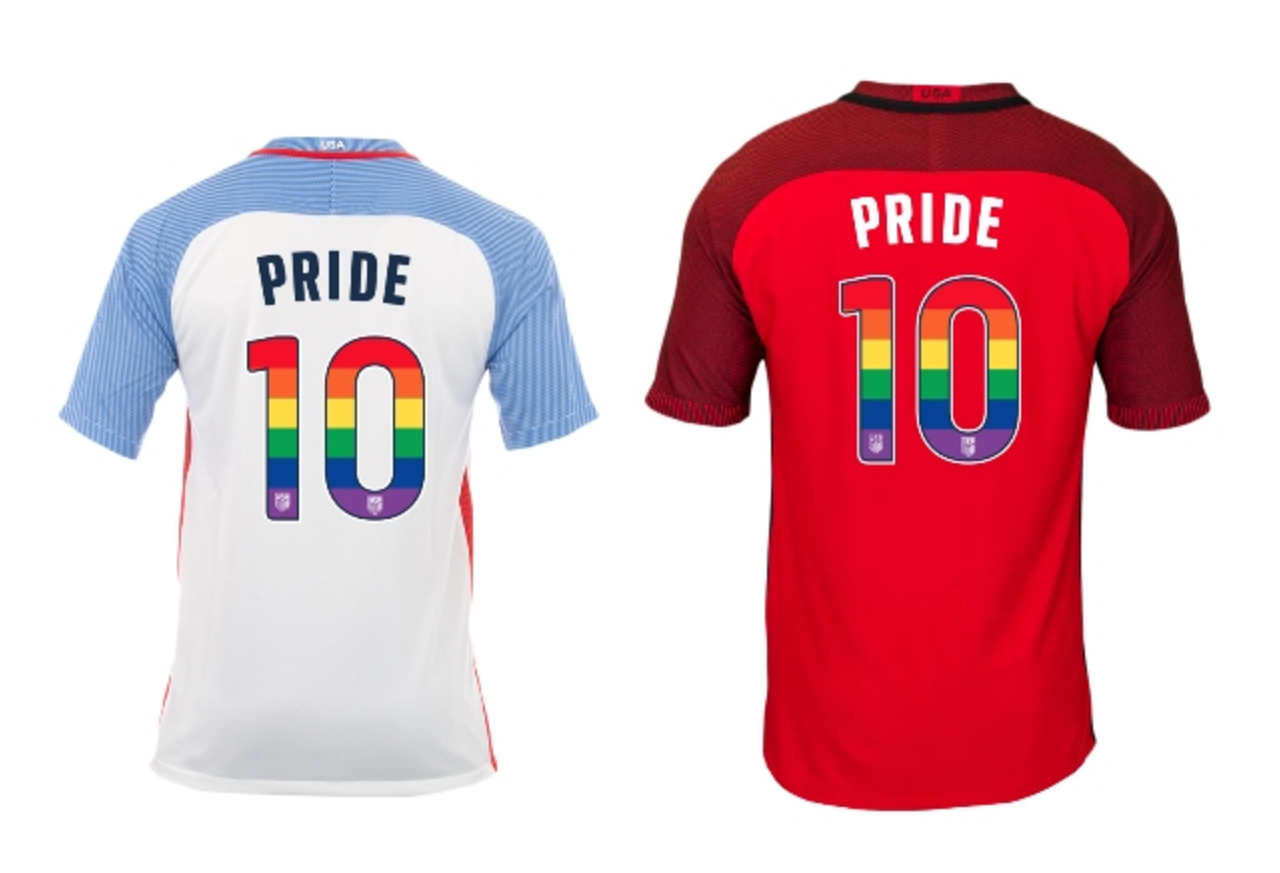 buy popular 72d4e f0fe3 US national soccer teams will wear rainbow uniforms for ...