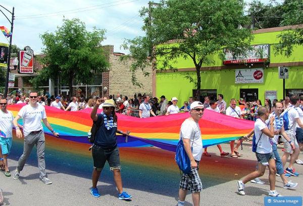 Charlotte gay pride 2008