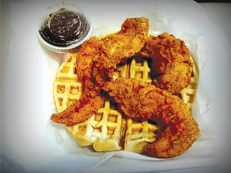 Callout Capital Chicken And Waffles By Art P Yelp Metro Weekly