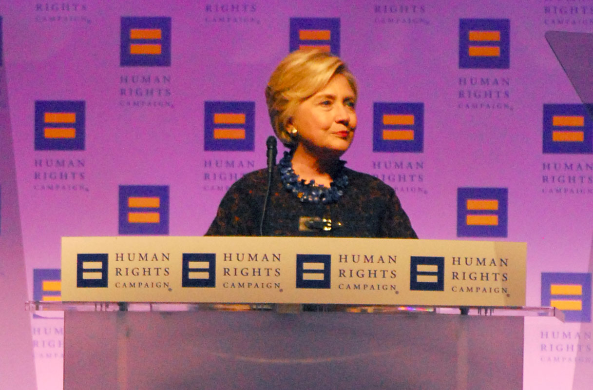 Hillary Clinton And Kamala Harris Urge HRC Dinner