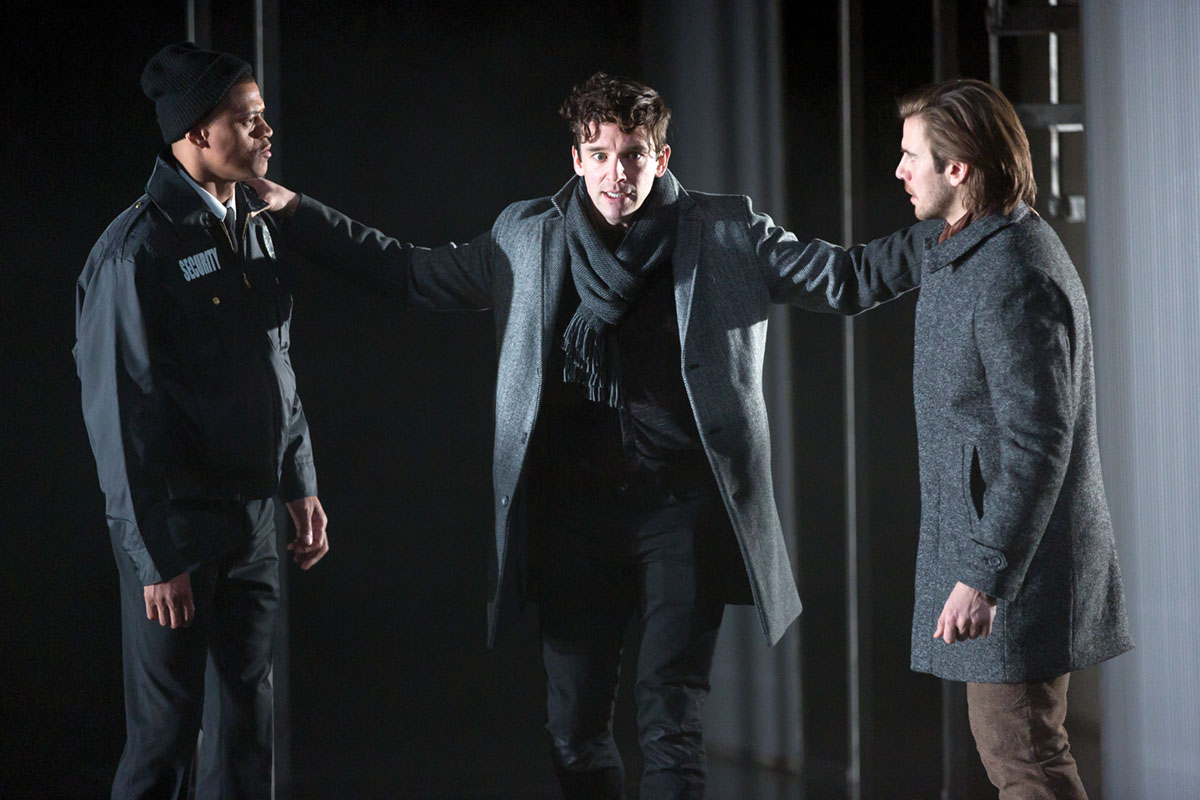 "the tone of anguish in the play hamlet In william shakespeare's hamlet, act iii, scene i, the title character, hamlet, performs his most famous soliloquy, started ""to be, or not to be"" this speech comes in the midpoint of the main action of the play in the conclusion of act ii, hamlet purveyed a more rational attitude and."
