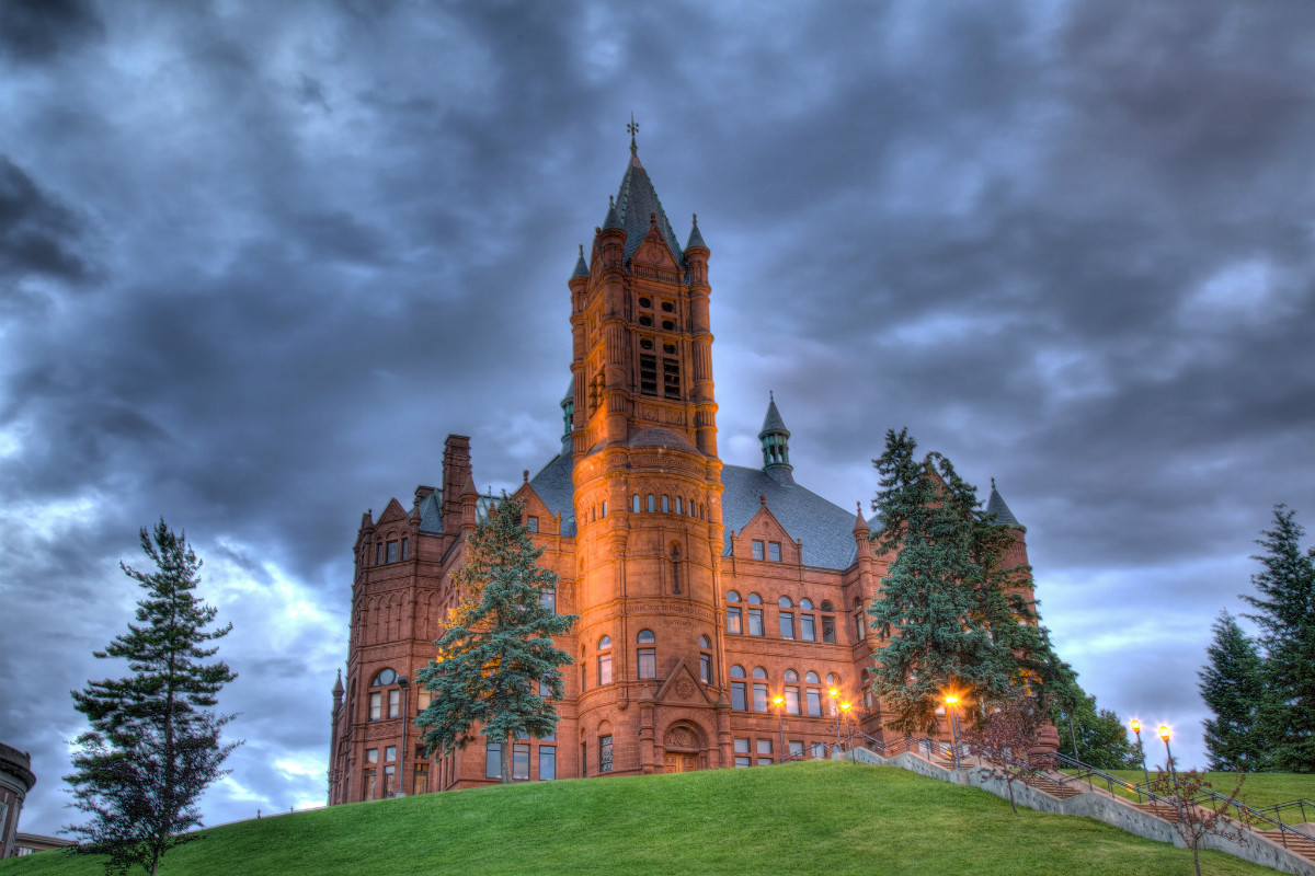 Syracuse University fraternity suspended for racist videos