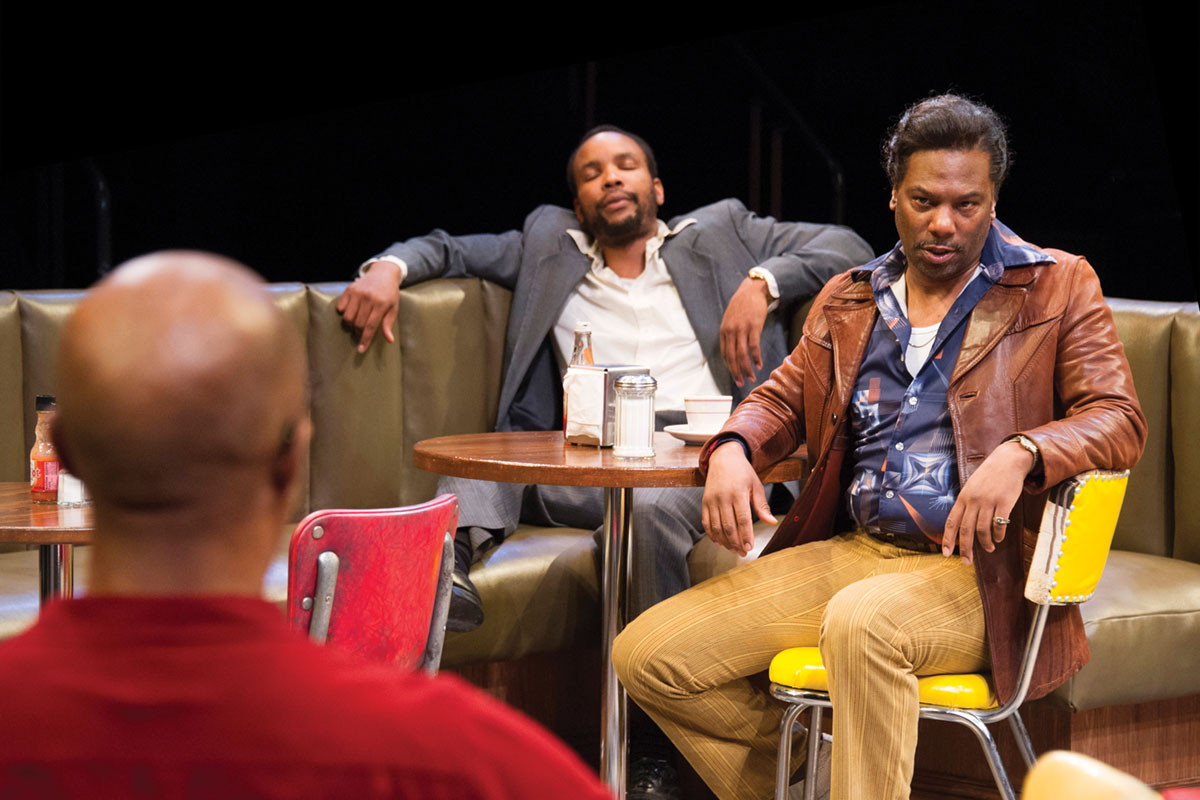 Reginald Andre Jackson as Wolf, Carlton Byrd as Sterling, and David Emerson Toney as Holloway.