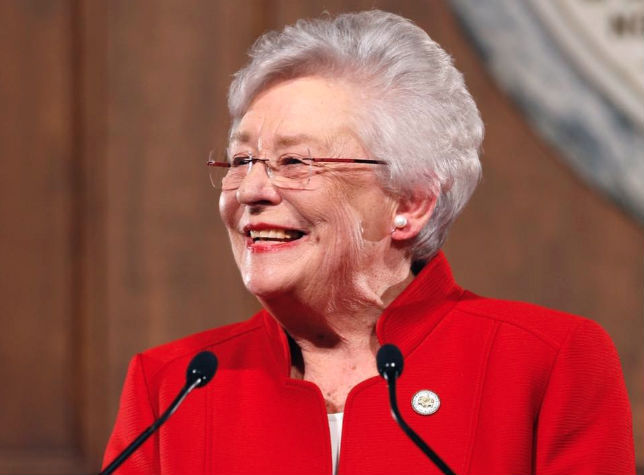 Alabama Gov. Kay Ivey Vigorously Denies She Is Gay