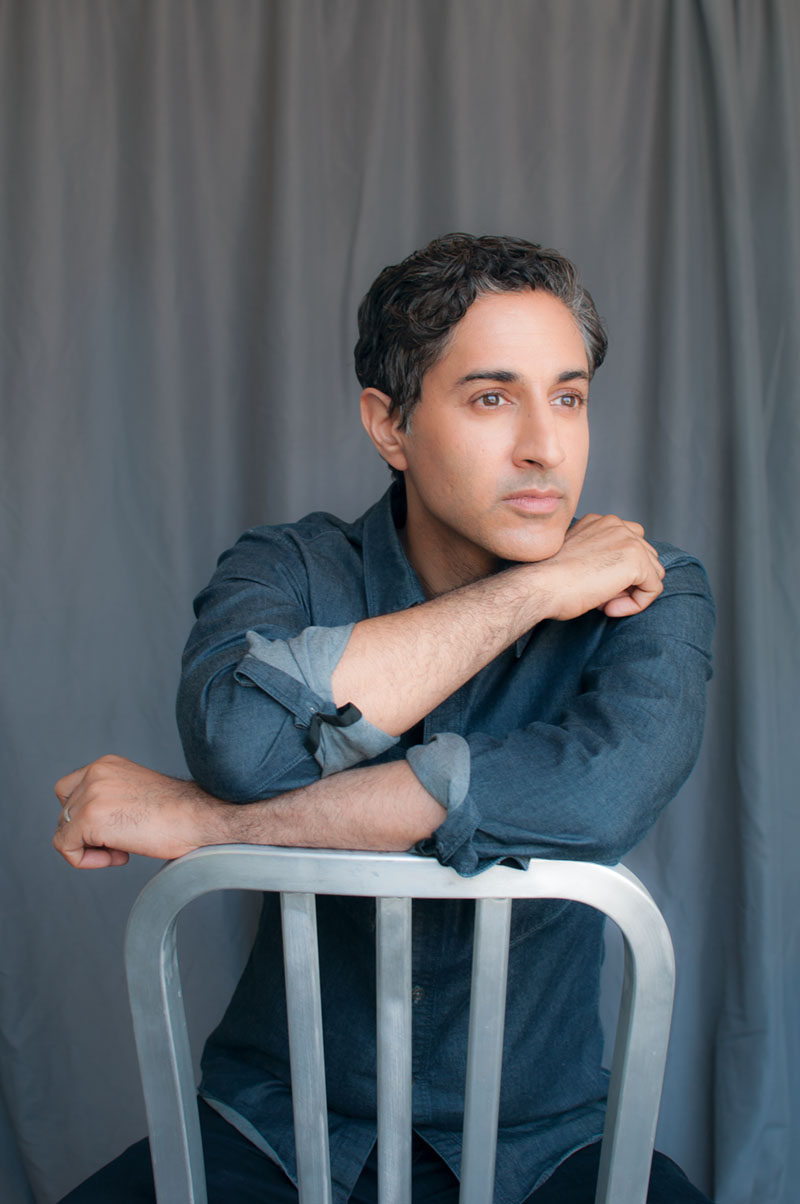 Maulik Pancholy Comes Out on Top