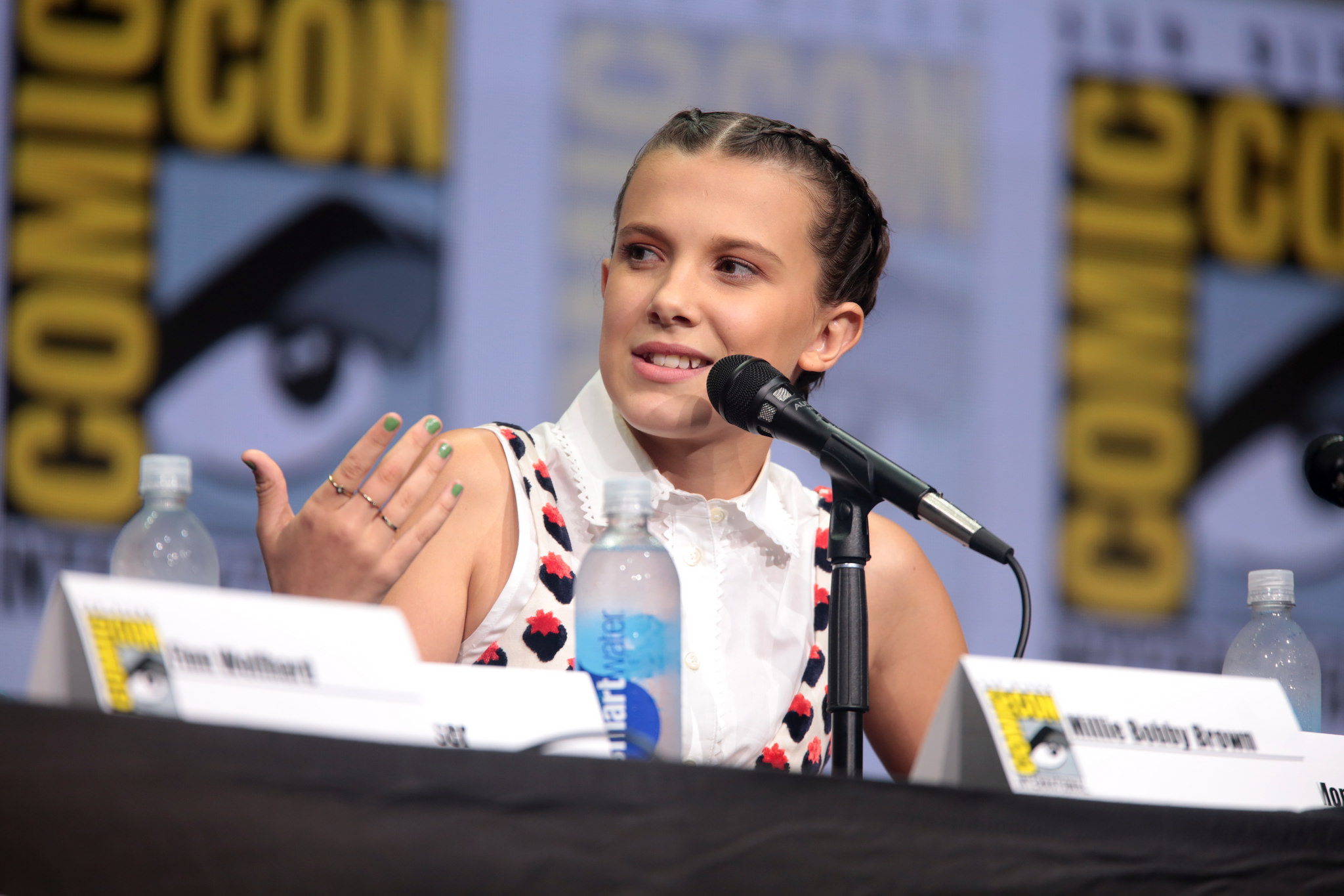 Stranger Things' Millie Bobby Brown deletes Twitter after ...