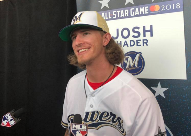 1b4759c00 Brewers pitcher Josh Hader apologizes for past racist