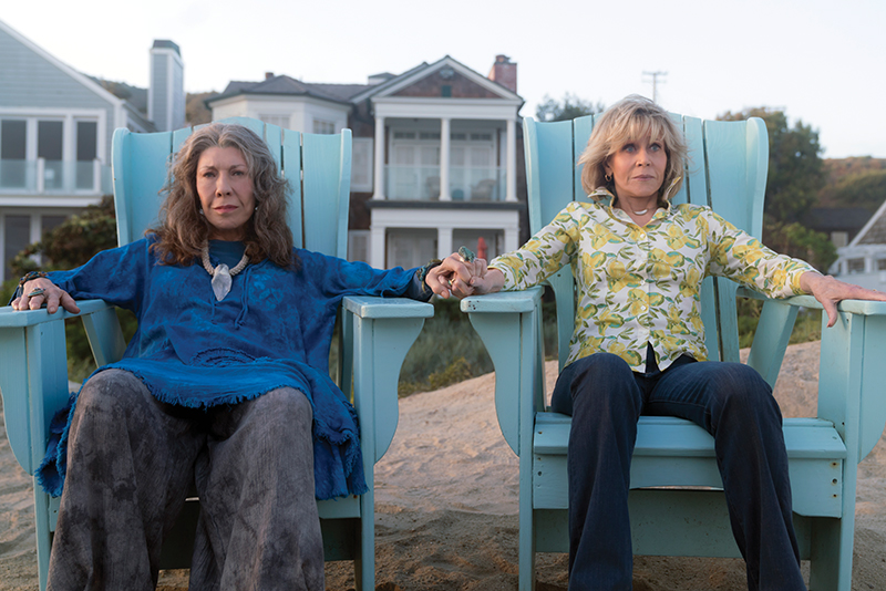 647b3d3fc2 Grace And Frankie  Lily Tomlin and Jane Fonda — Photo courtesy of Netflix