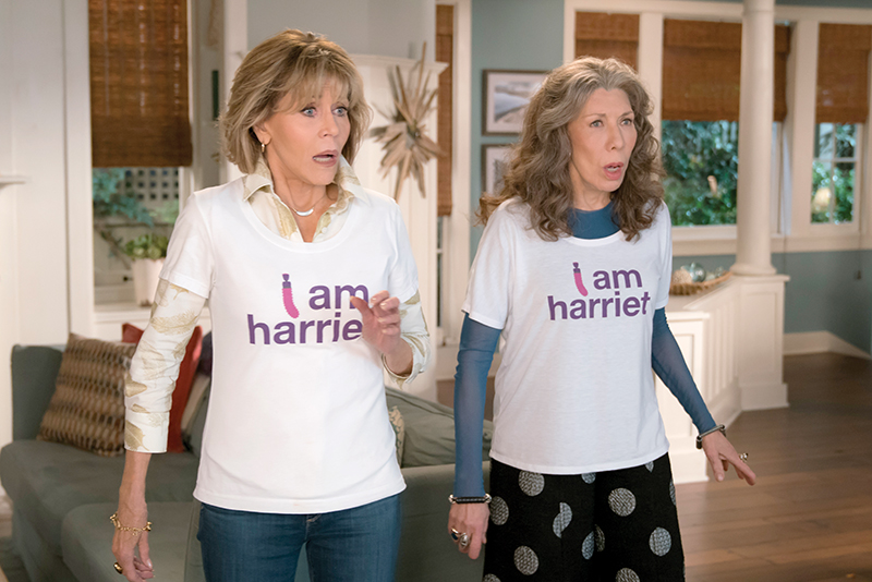 f0013f1119 Grace And Frankie  Fonda and Tomlin — Photo courtesy of Netflix