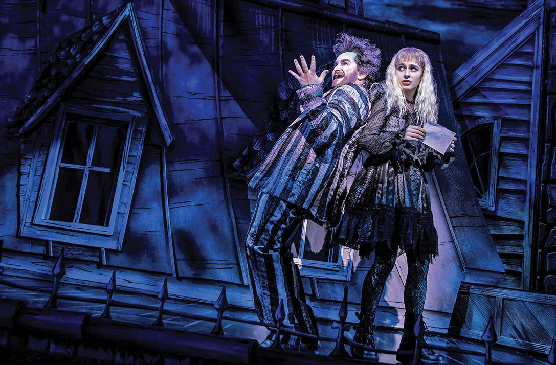 Theater Review Beetlejuice The Musical At National Theatre Metro Weekly