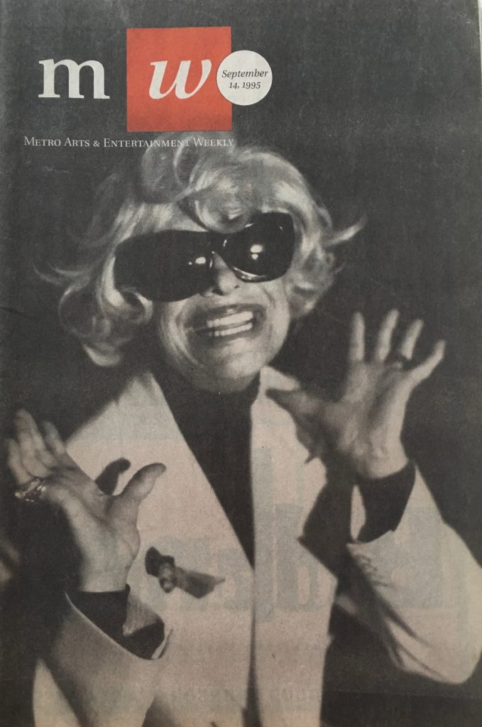 Carol Channing, photographed for Metro Weekly by Annie Adjchavanich.
