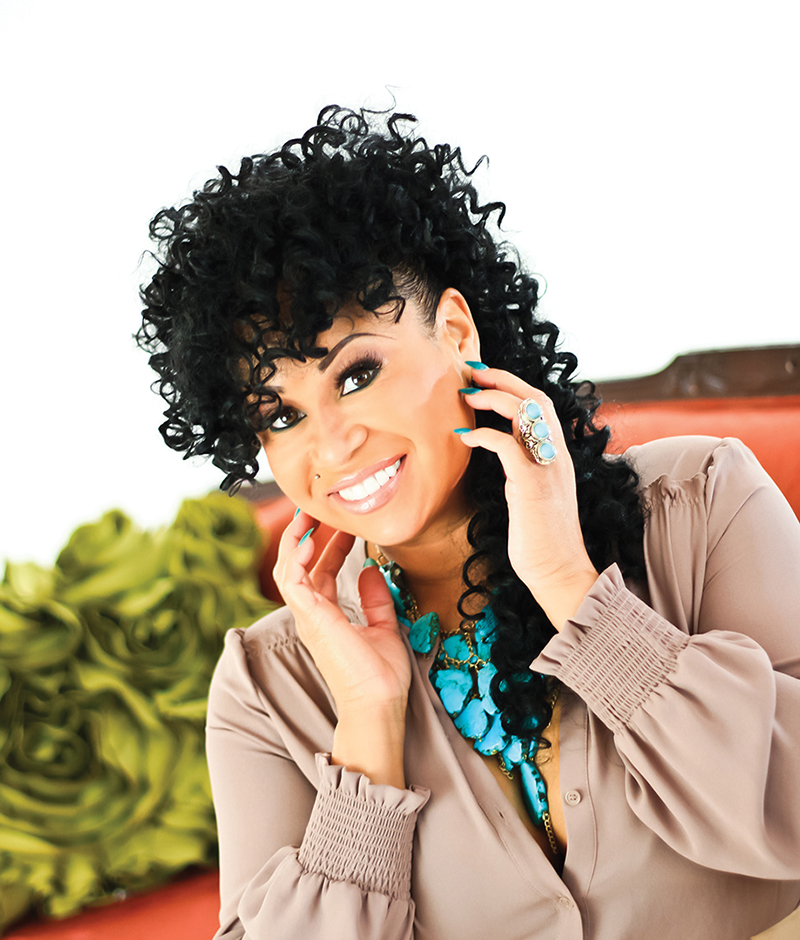 Dance music diva CeCe Peniston is taking care of business
