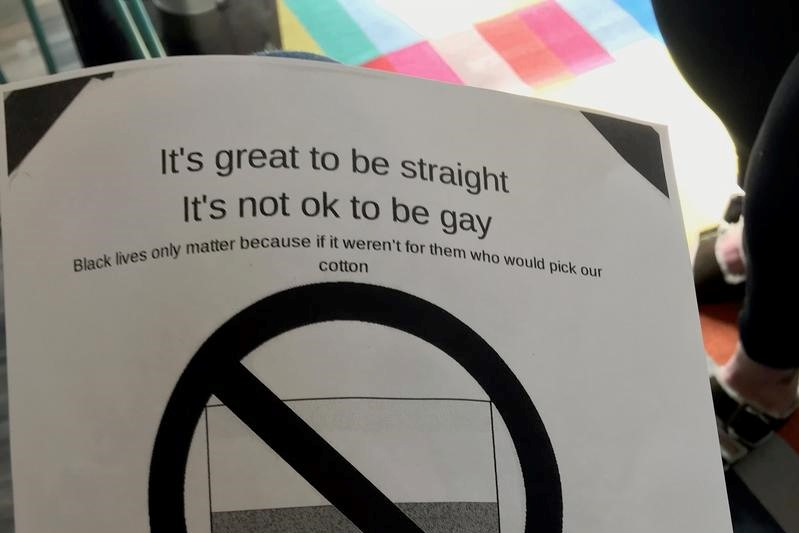 A Wyoming teacher complained about anti-gay flyers appearing in school. The principal fired her.
