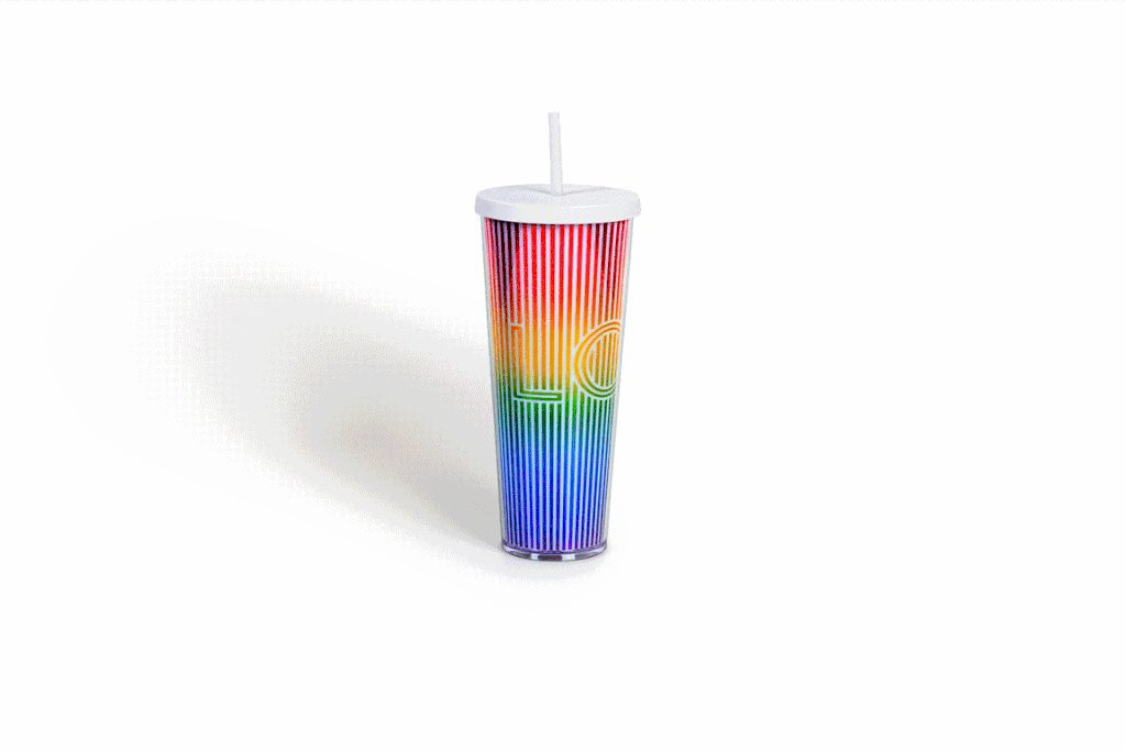 Releases Colored Rainbow Reusable Starbucks Cups Month For Pride OPZ8nkwN0X