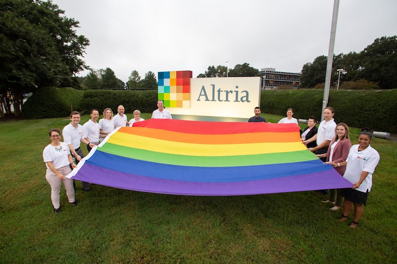 """Tobacco giant Altria Group joins pro-LGBTQ """"Virginia Competes"""" coalition"""