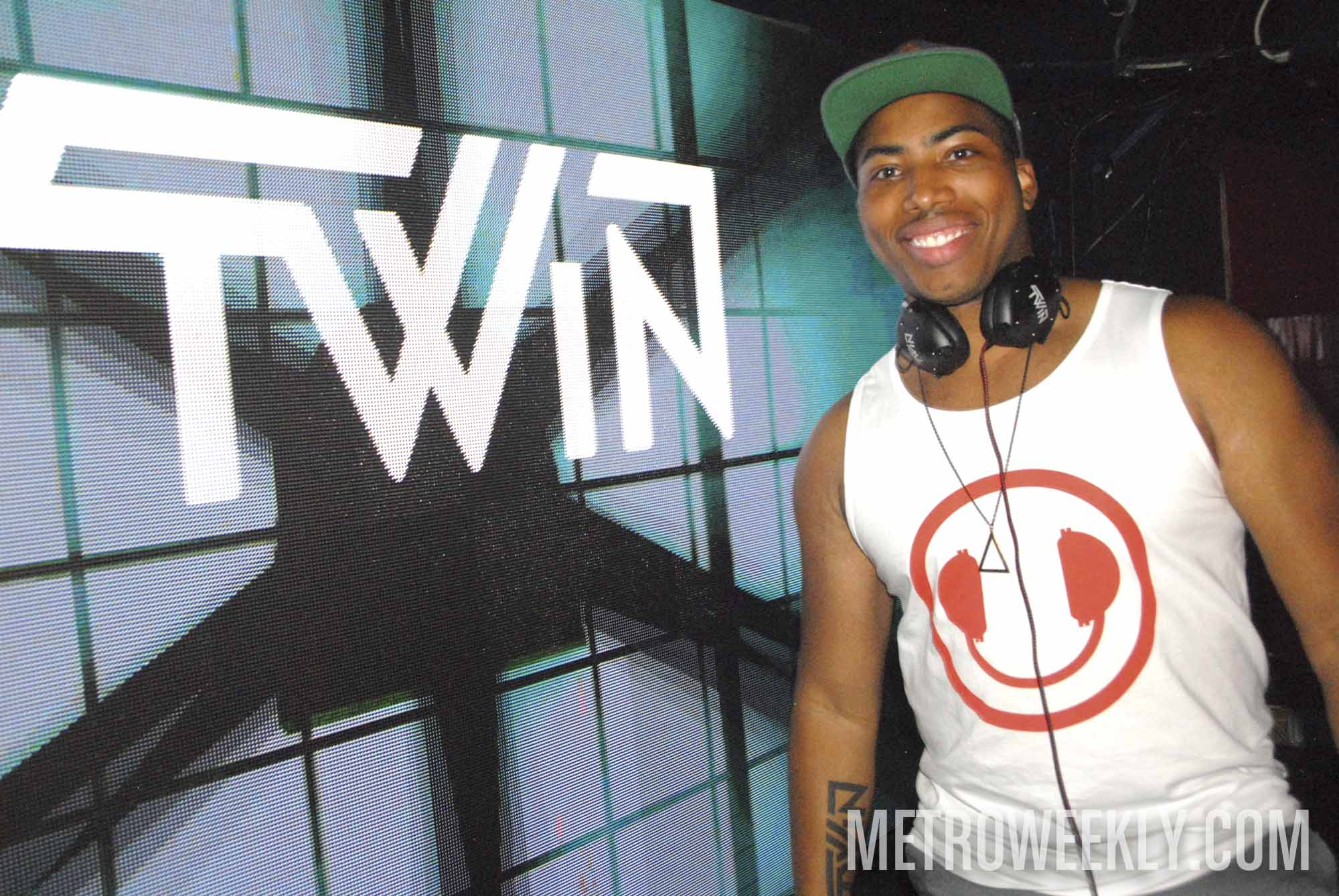DJ TWiN -- Photo: Ward Morrison