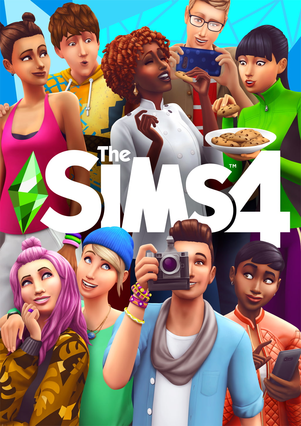 The Sims 4 will feature a same-sex couple on its cover for the first
