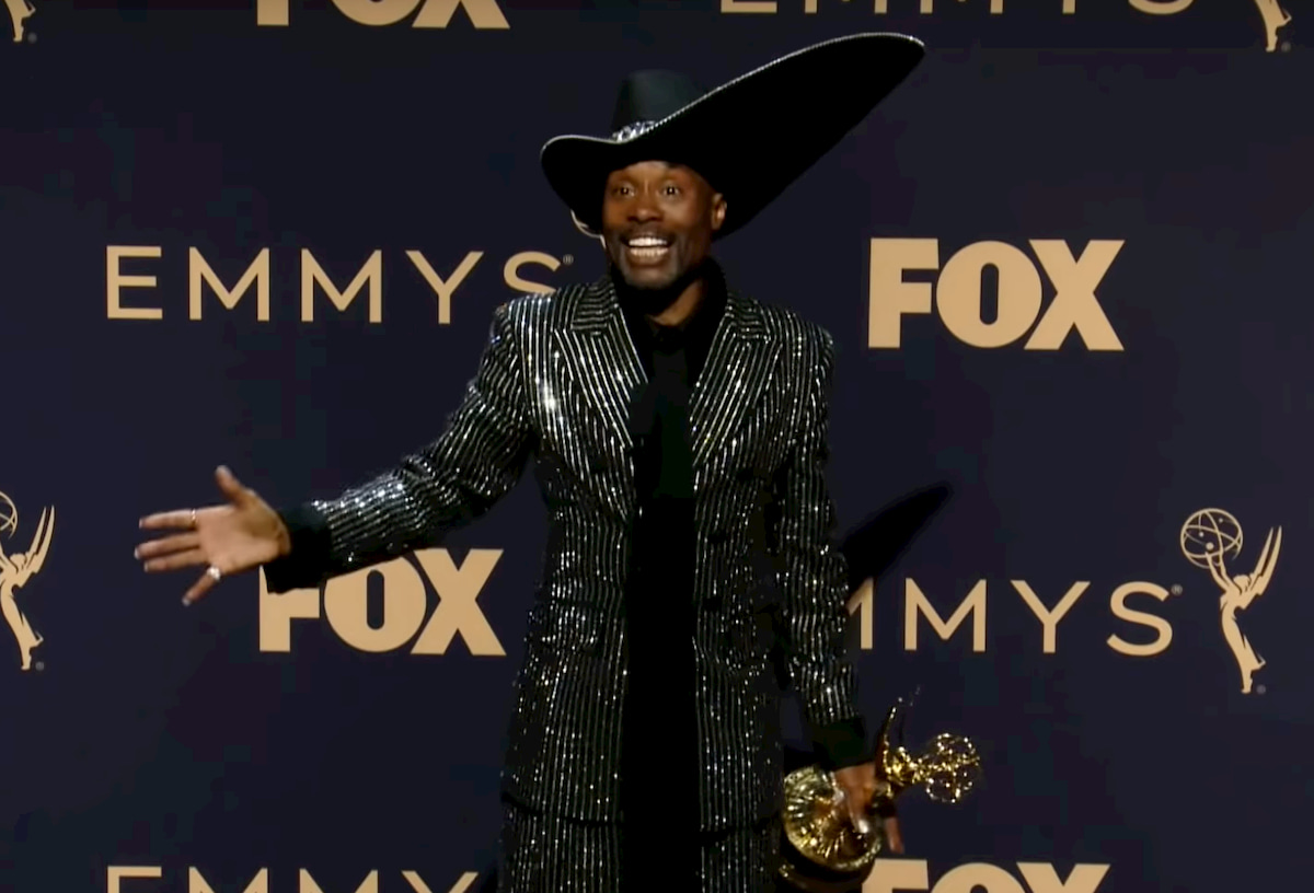 Billy Porter at the 2019 Emmy Awards