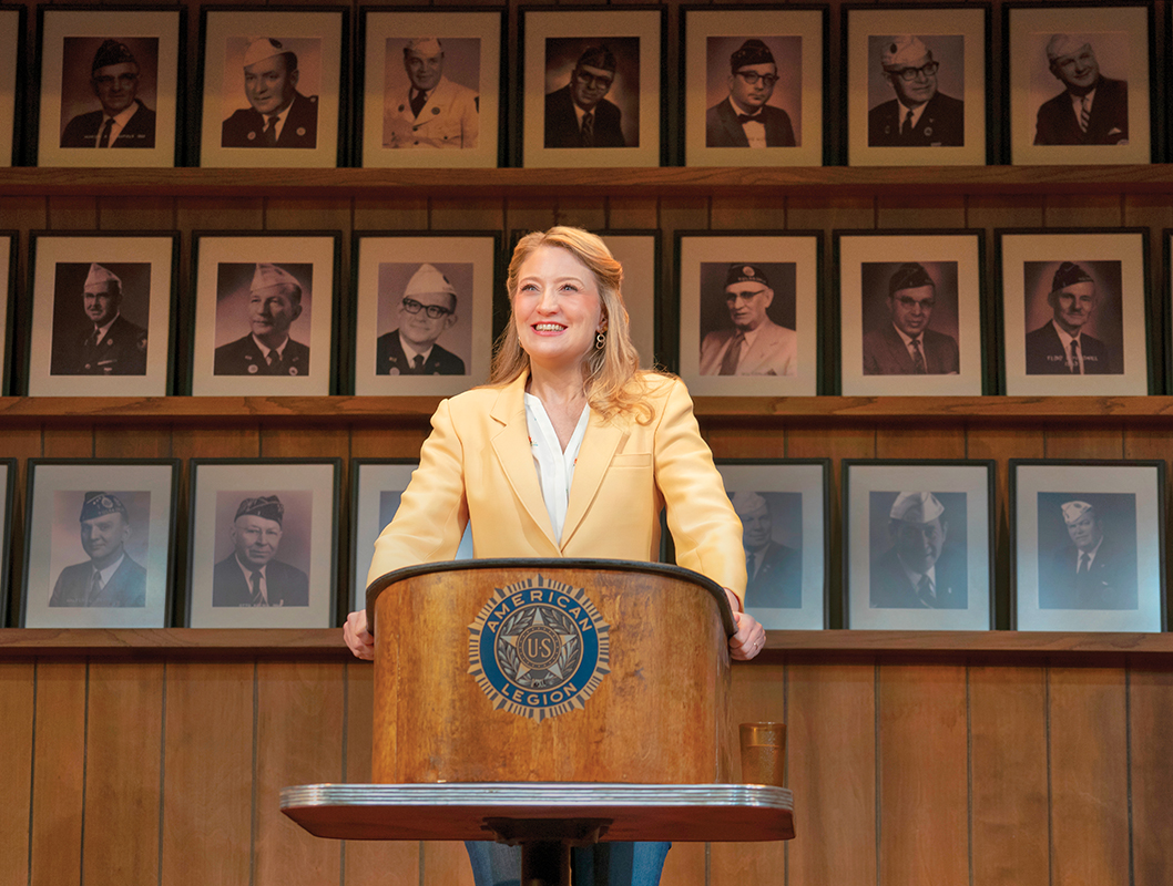 Heidi Schreck in What's the Constitution Means to Me -- Photo: Joan Marcus