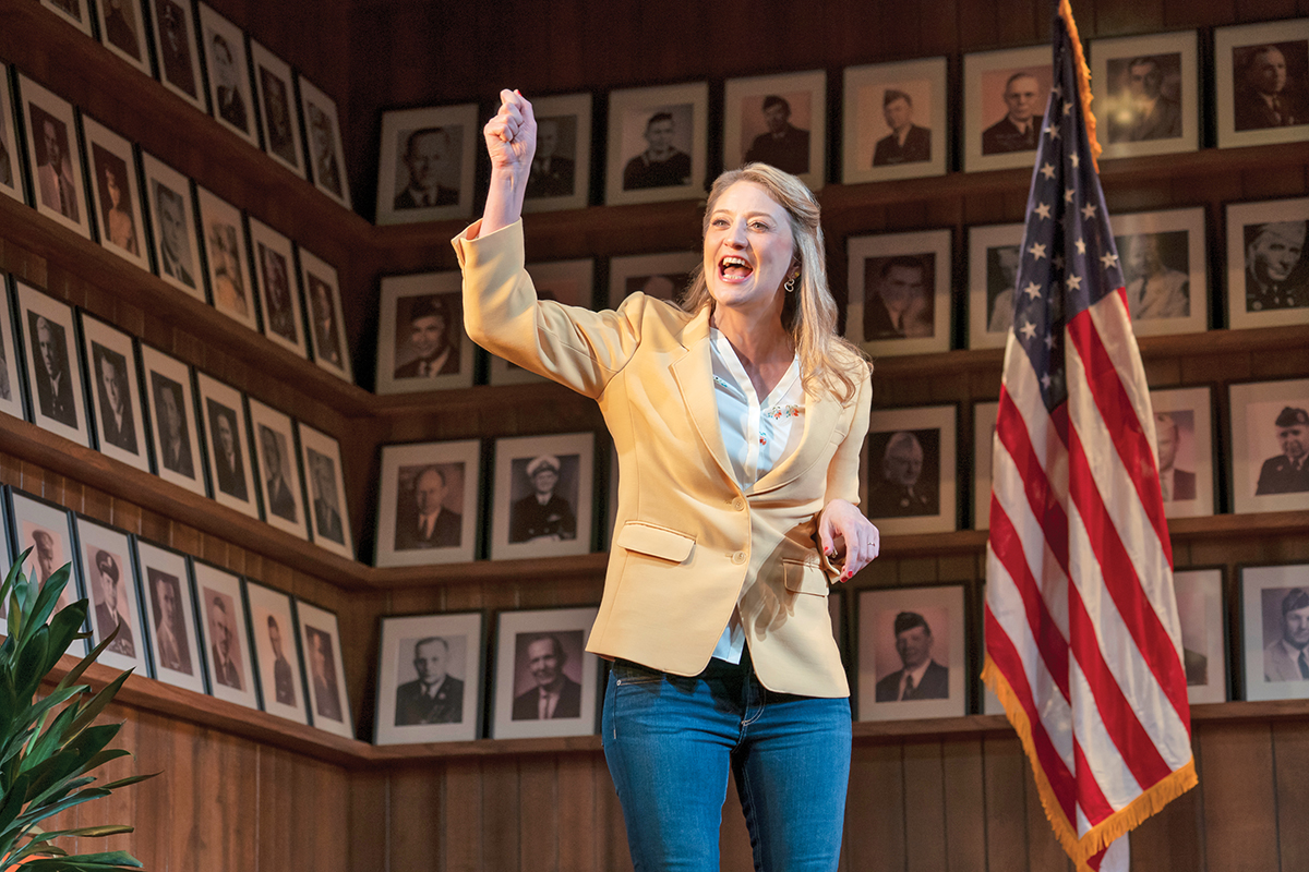 DC Theater Review: Heidi Schreck's 'What the Constitution Means to Me'