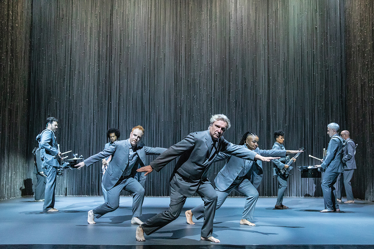 "Album Review: David Byrne's ""American Utopia on Broadway"""