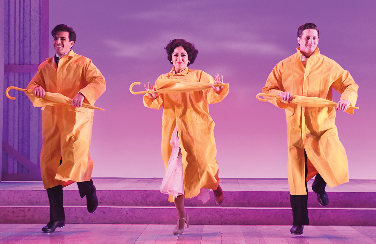 singin in the rain, review, metro weekly
