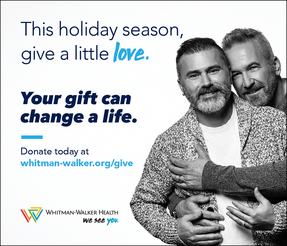 This holiday season, give a little love. your gift can change a life.Donate today to Whitman-Walker Health.
